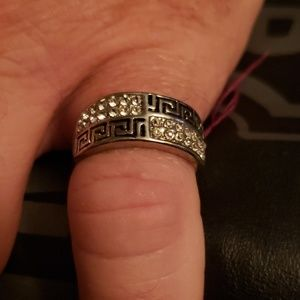 NWT Stainless Steel Aztec design
